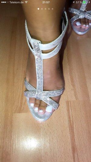 Abend Schuhe high heels neu