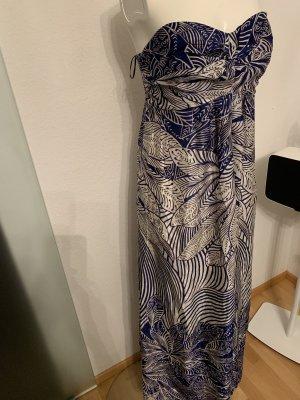Abend Urlaub Kleid Seiden Maxikleid Gr 36 38 M von Kaliko