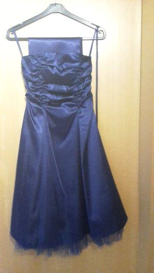 Abendballkleid dunkelblau