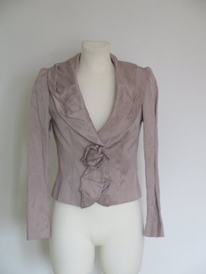 Ashley Brooke Blazer court mauve coton
