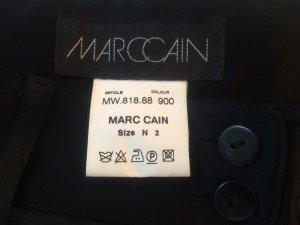 Marc Cain High Waist Trousers black viscose