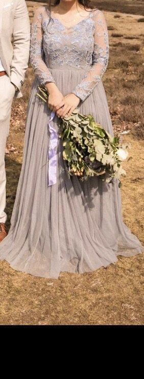 Asos Avondjurk paars