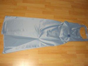 Abendkleid 2-Teiler in Eisblau