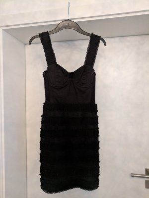 H&M Corsage Dress black
