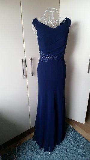 Abendkleid 34 dunkelblau