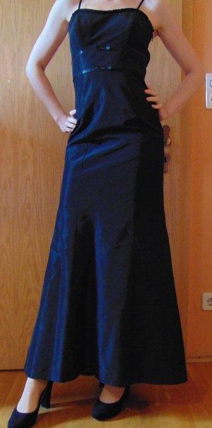 Abendkleid 36 lang schwarz