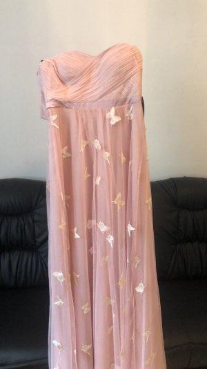 100% Fashion Robe de soirée rose clair