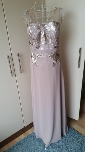 Abendkleid 40 Rose Nude