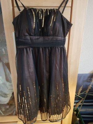 C&A Evening Dress black brown