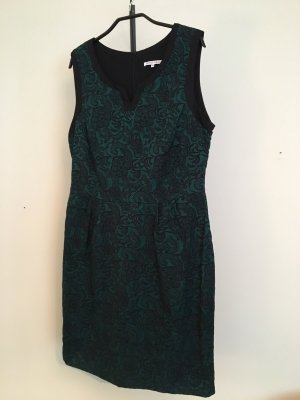 Anna Field Lace Dress black-forest green