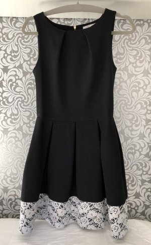 Closet Evening Dress black-white