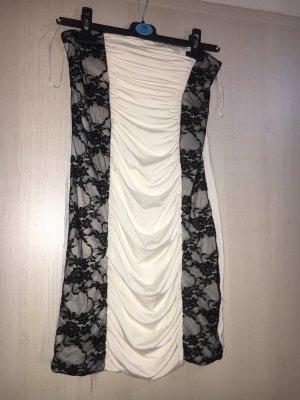 Tally Weijl Robe de soirée blanc-noir