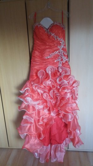 Dress raspberry-red