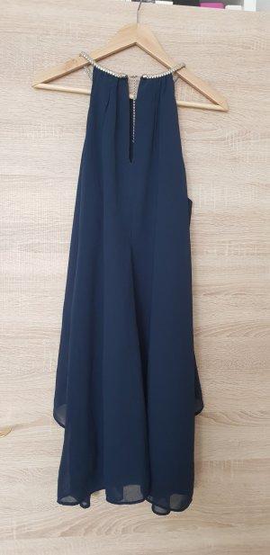 Bodyflirt Chiffon jurk donkerblauw