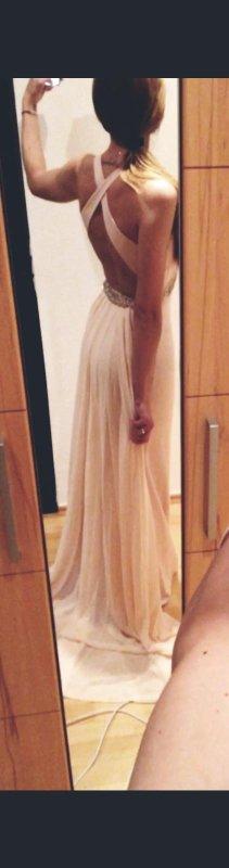 Evening Dress nude-pink