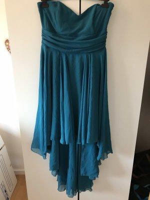 Robe de bal bleuet
