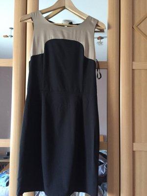 Vero Moda Avondjurk licht beige-zwart
