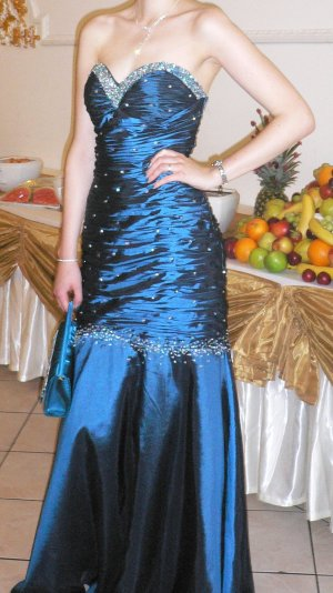 Abendkleid Abiballkleid Hochzeitskleid Hennakleid Meerjungfrau