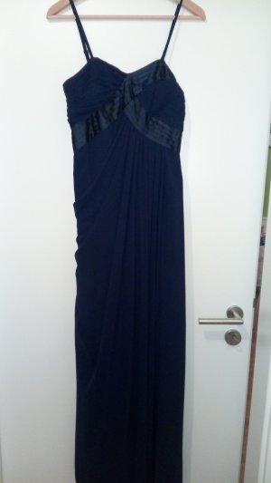 Abendkleid Abikleid Cocktailkleid dunkelblau Gr. 38
