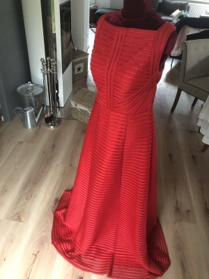 Abendkleid Abikleid Unique Rot 40 Brautjungfernkleid Kleid