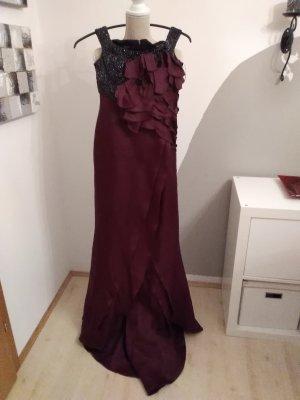 Escada Couture Abito da sera nero-viola scuro