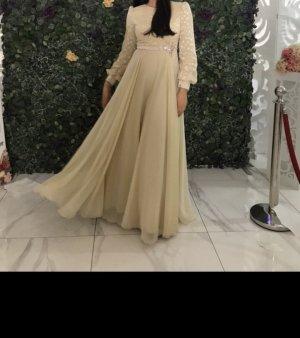 Absolu Paris Evening Dress gold-colored-cream
