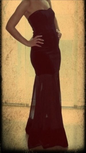 Abendkleid ASOS in Schwarz
