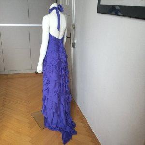 Hugo Boss Vestido de baile violeta azulado Seda