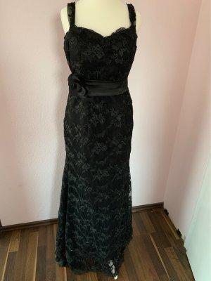 Abendkleid aus Spitze schwarz gr.38/40