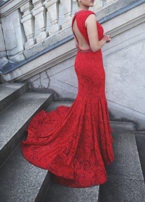 Abendkleid aus Spitze von Escada