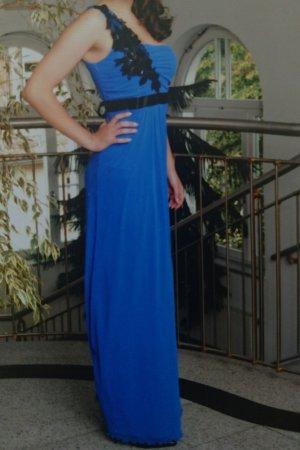Abendkleid, azurblau, 34