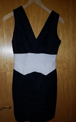 Best emilie Dress white-black