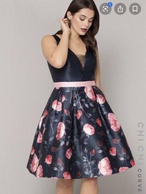 Chi Chi London Evening Dress light pink-dark blue