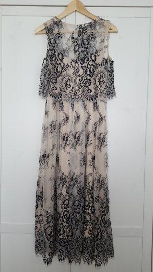 H&M Evening Dress black-cream