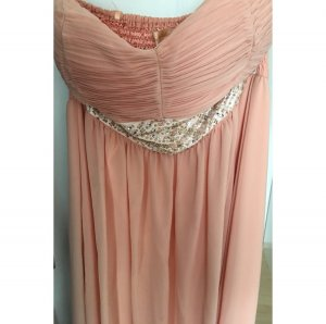 100% Fashion Evening Dress rose-gold-coloured