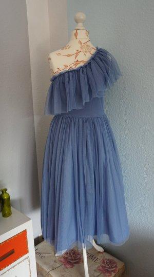 Abendkleid, Ballkleid, Brautjungfernkleid, one shoulder Kleid, hellblau, Asos
