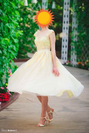 Ball Dress gold-colored-yellow