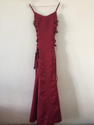 Abendkleid Ballkleid dunkelrot Gr.32 maßgeschneidert Versace inspiriert