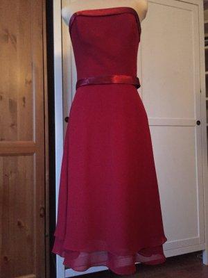Abendkleid Ballkleid dunkles rot von Mariposa 38