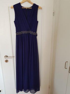 Abendkleid/Ballkleid Gr. 40 blau