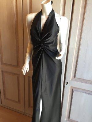 Abendkleid Ballkleid Mariposa schwarz glänzend Retro Stil 38