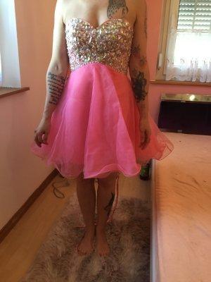 Grace Karin Ball Dress pink mixture fibre