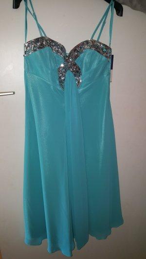 Robe tunique bleu clair