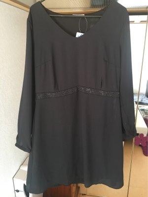 Blue Motion Vestido de noche negro