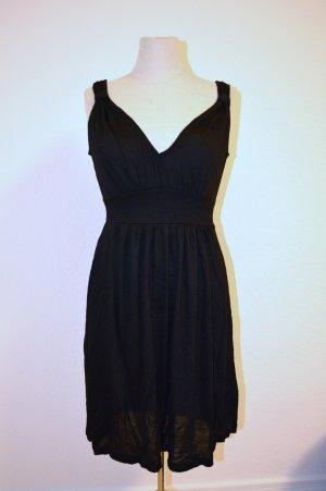 Abendkleid Black 100% Viscose Gr. 36 Neu