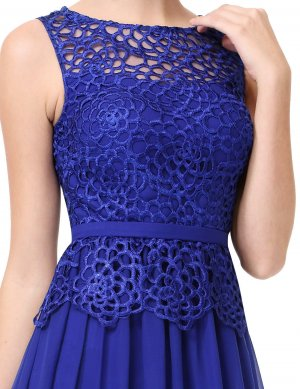 Abendkleid blau 36 Neu