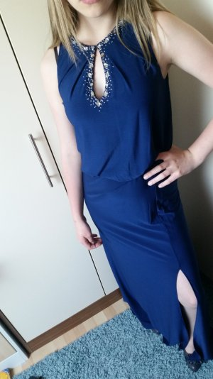 Abendkleid blau 36 S