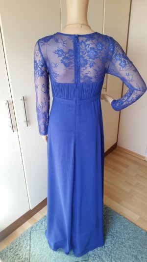 Abendkleid blau 36 Spitze