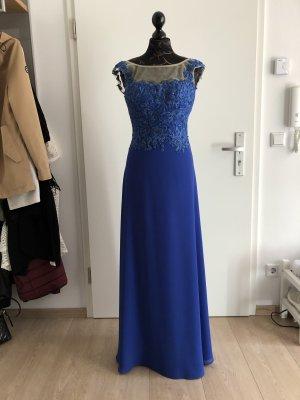 Abendkleid blau Gr. 36