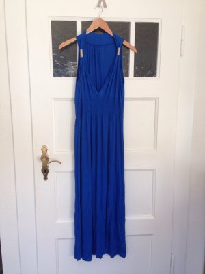 Abendkleid | blau | onesize | Bodenlanges Kleid | Fashion | Blogger | Hippie
